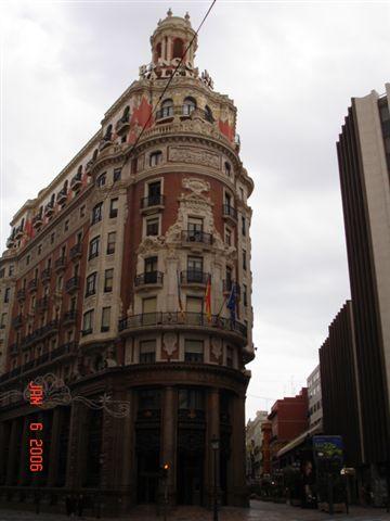 Beautiful building in Valencia